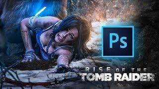 Tomb Raider | Speed-art | Photoshop by Pavel Bond