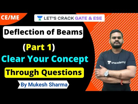 Deflection of Beams: Clear Your Concept Through Questions (Part 1) | Strength of Material | Mukesh