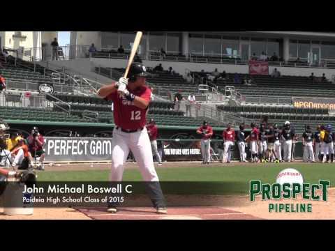 John Michael Boswell Prospect Video, C, Paideia High School Class of 2015