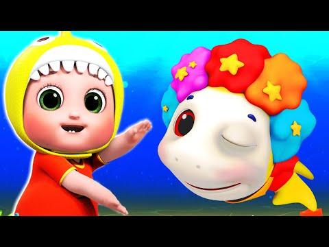 Baby Shark | Blue Fish Nursery Rhymes & Kids Songs - Live Stream