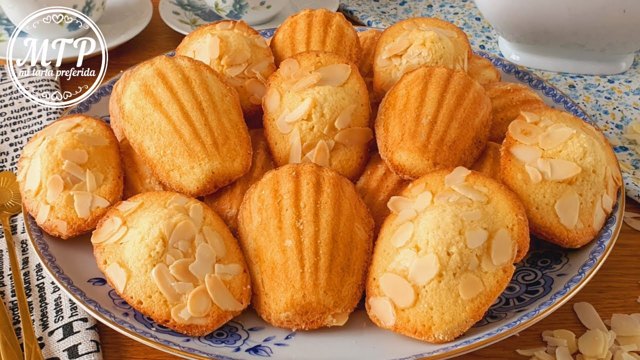 MADELEINES DE ALMENDRA | Receta fácil | Mi tarta preferida