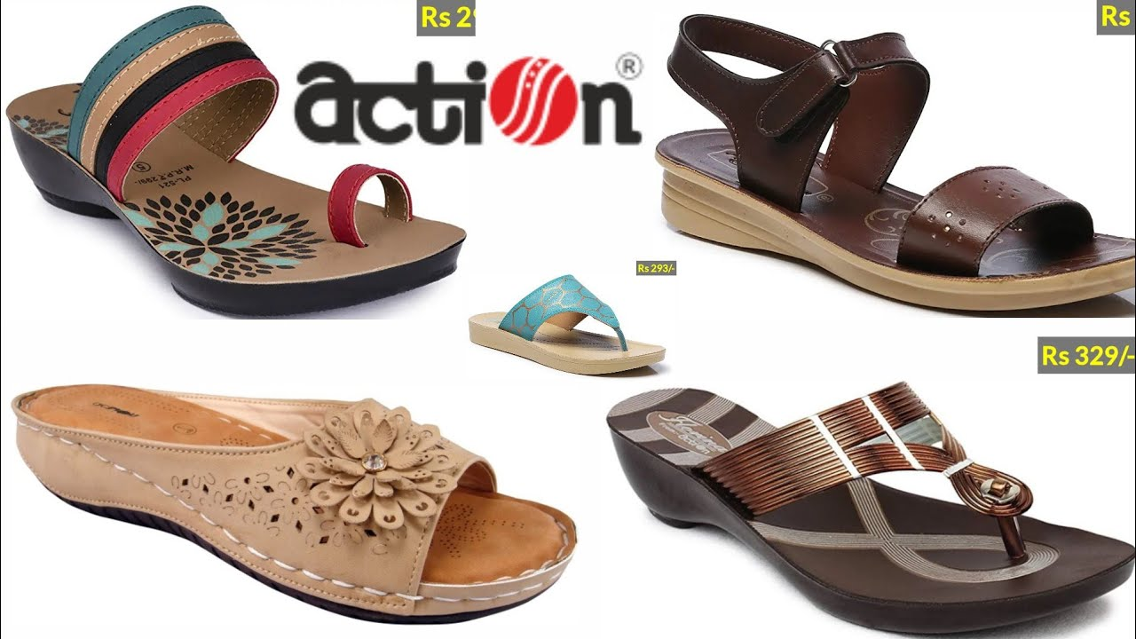 ACTION WITH PRICE FOOTWEARS COLLECTION
