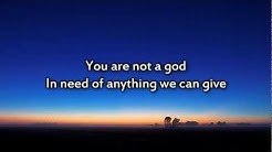 Phillips Craig & Dean - You are God alone - Instrumental with lyrics
