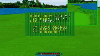 Golf Magazine 36 Great Holes Starring Fred Couples • Sega 32x Gameplay