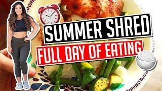SUMMER SHRED FULL DAY OF EATING │ Gauge Girl Training