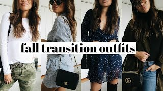 FALL TRANSITION OUTFITS | rachspeed