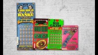 Zdrapki #171 Diamentowe 7, casino de luxe,  I❤️ big cash, milion w banku