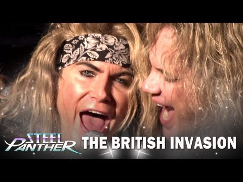 """Steel Panther - """"The British Invasion"""" Teaser #1 """"Party All Day"""""""