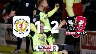 Crewe Alexandra 1 Exeter City 2 (20/2/18) EFL Sky Bet League 2