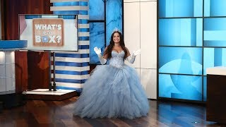 Download Ellen Plays 'What's in the Box?' with Guest Model Demi Lovato Mp3 and Videos