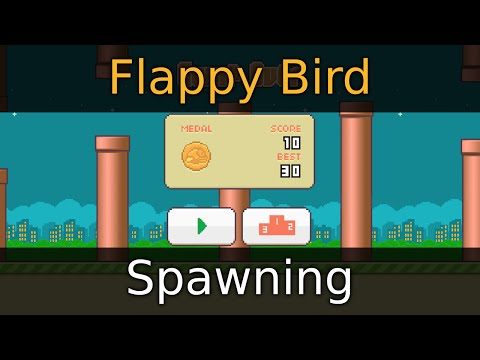 Godot Engine Tutorial - Flappy Bird - 03 Spawning