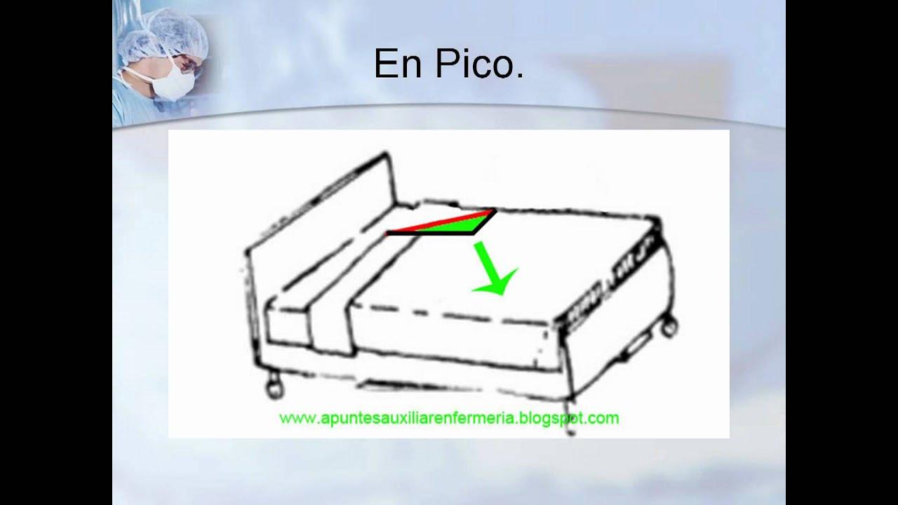 Hacer una cama hospitalaria  ApuntesAuxEnfermeria  YouTube