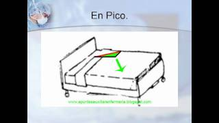 Hacer una cama hospitalaria - ApuntesAuxEnfermeria
