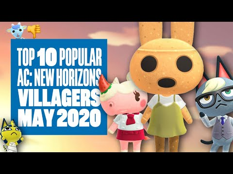 Top Ten Most Popular Villagers In Animal Crossing New Horizons
