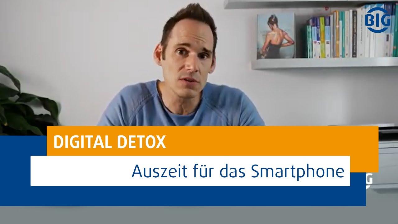 Digital Detox - warum eine Auszeit für's Smartphone gesund für uns ist