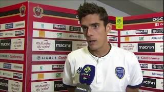 Nice 1-2 ESTAC⎥Réactions de Samassa et Bellugou