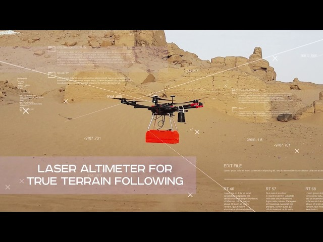 SPH Engineering Announces True Terrain Following for Drone
