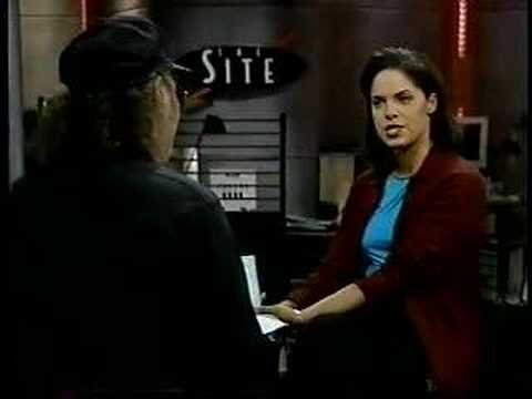 Soledad O'Brien and Dev Null 1997 MSNBC