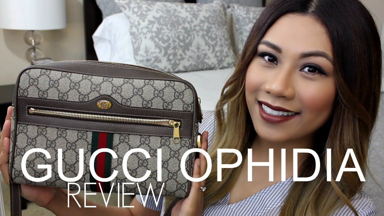 2dccf2b1e GUCCI OPHIDIA GG SUPREME SHOULDER BAG | REVIEW, PROS, CONS, & MOD SHOTS ♡
