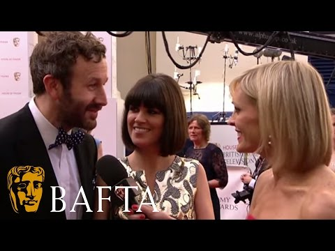 Chris O'Dowd and Dawn O'Porter on the BAFTA TV Red Carpet!