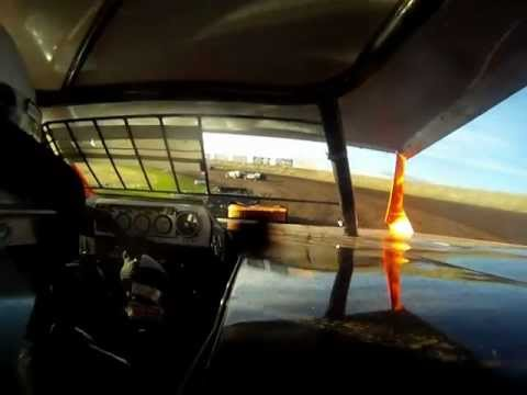 Gallatin Speedway modified in car camera