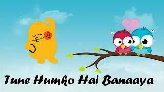 Bas Tera Sath Ho Chahe Jo Baat Ho Ho love story Hindi tec gana