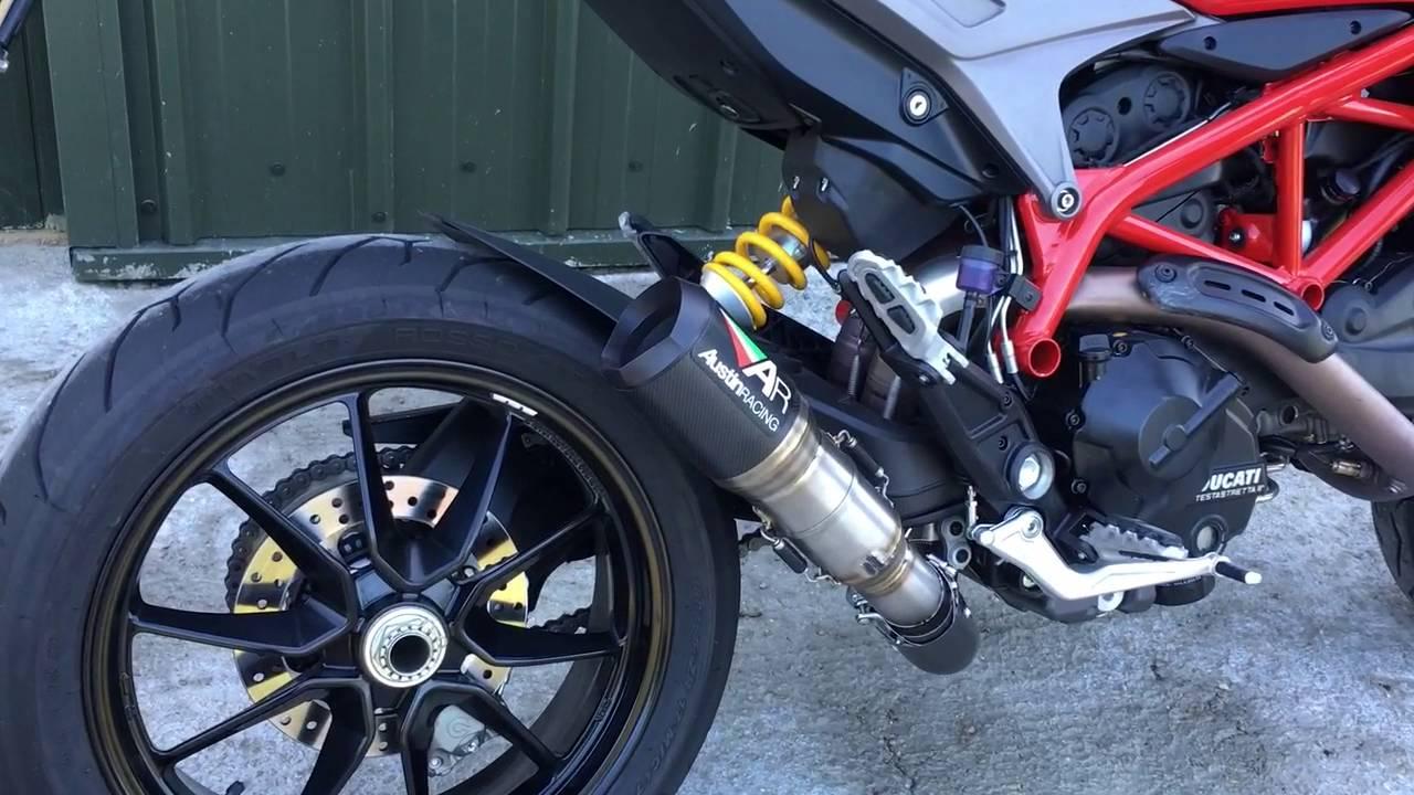Ducati Hypermotard  Exhaust