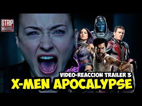 Vídeo Reacción del tercer tráiler de X-Men Apocalipsis | Strip Marvel from YouTube · Duration:  6 minutes 37 seconds