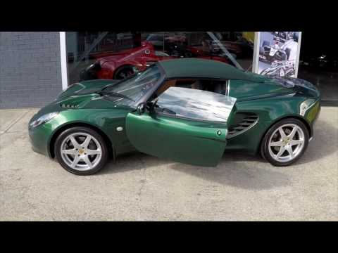 Lotus Elise MY2002 Racing Green For Sale In Sydney