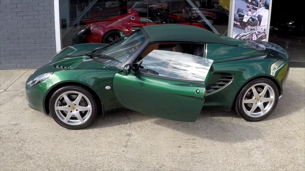 Lotus Elise My2002 Racing Green For In Sydney