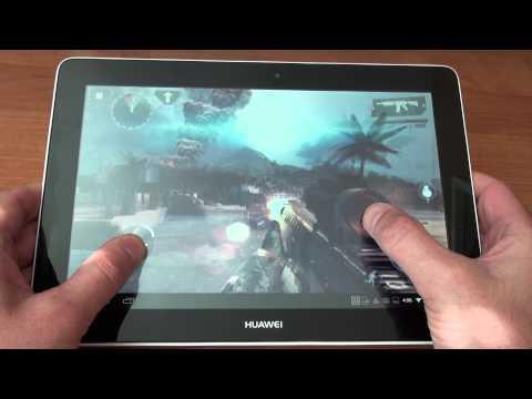 Huawei MediaPad 10 Link+ Modern Combat 4 GamePlay