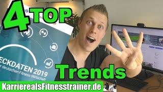 4 TOP-Trends aus der Fitnessbranche & was du davon lernen kannst (als Fitnesstrainer)