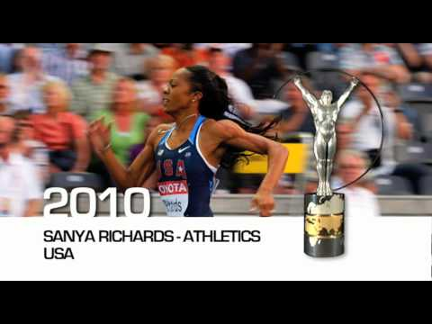 Laureus World Sportswoman of the Year Nominations 2010