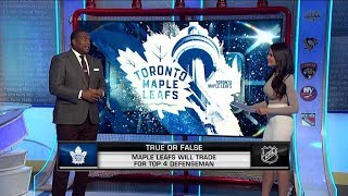 On The Fly:  Trades Segment:  A game or False about potential NHL trades  Jan 11,  2019