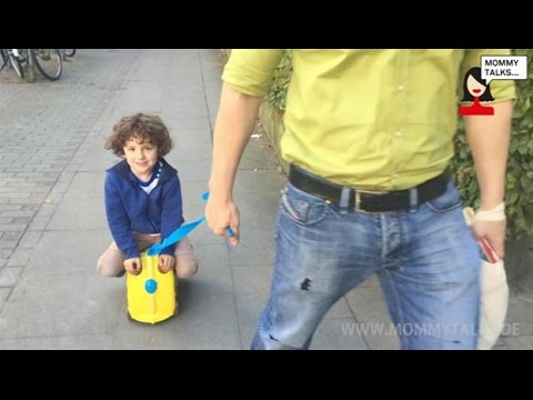 Trunki Kinderkoffer Bewertung Video