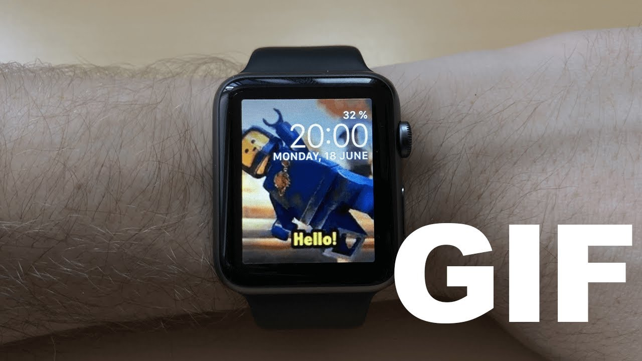 How to make a custom GIF Watch Face for your Apple Watch