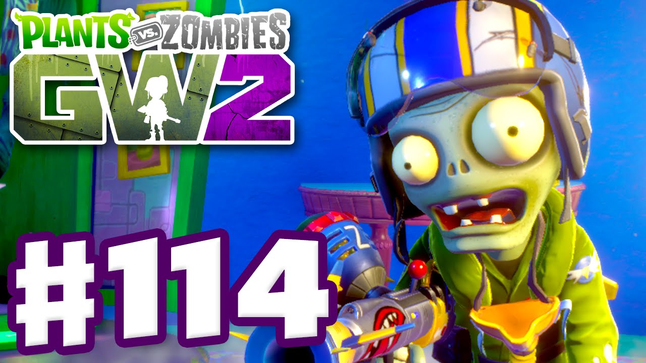 Plants Vs Zombies Garden Warfare 2 Gameplay Part 114 Sky Trooper Pc Youtube