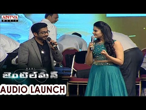 Gentleman Audio Launch Part 01 || Nani, Surabhi, Niveda Thomas, Mani Sharmaa