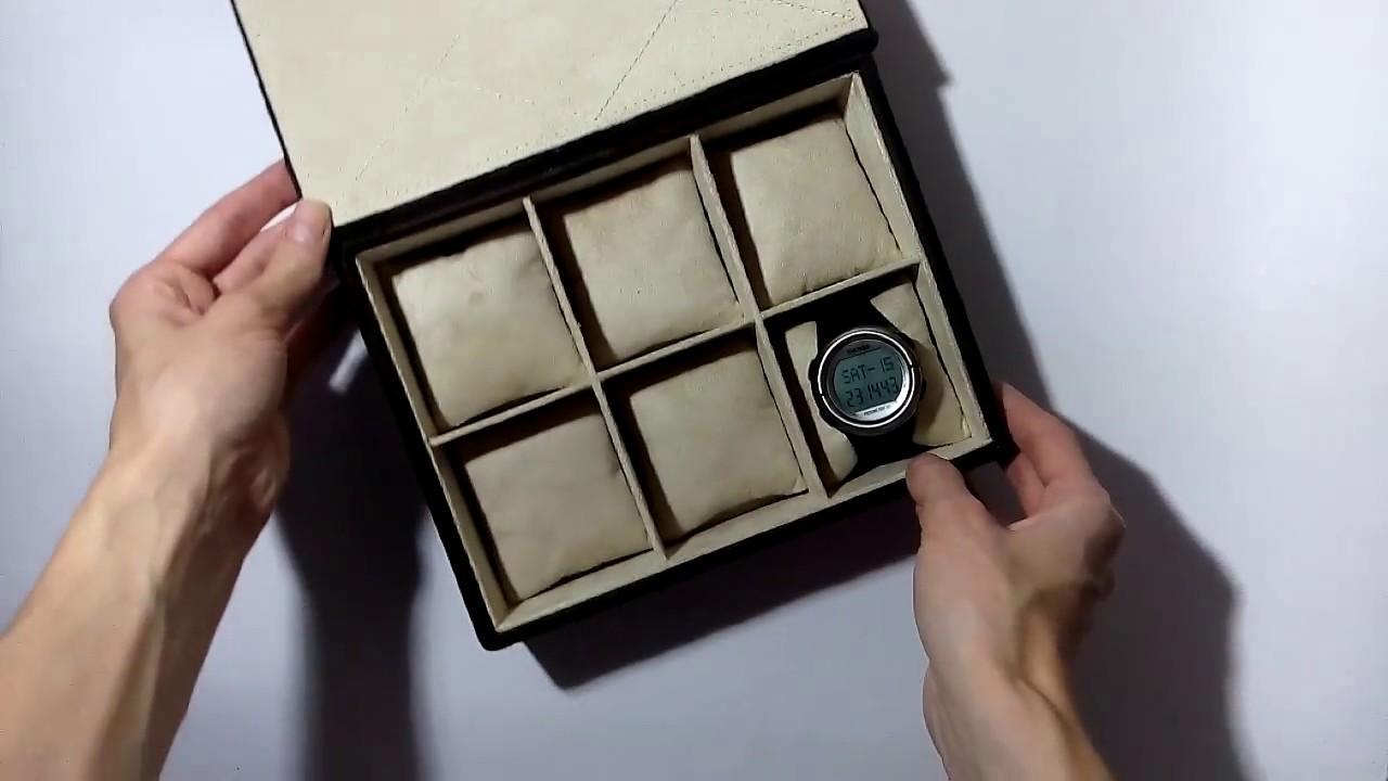 Коробка своими руками для часов