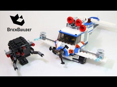 Lego Movie 70811 The Flying Flusher Lego Speed Build Youtube
