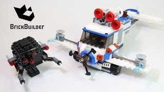 Lego Movie 70811 The Flying Flusher - Lego Speed Build