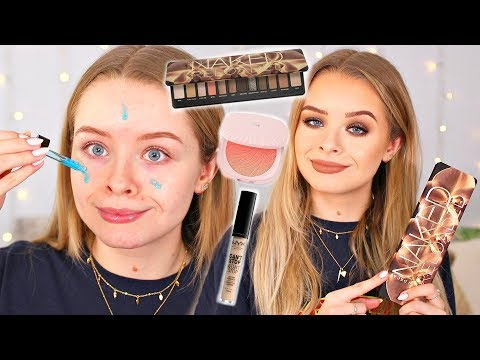NEW MAKEUP FEBRUARY 2019!! FULL FACE FIRST IMPRESSIONS | sophdoesnails