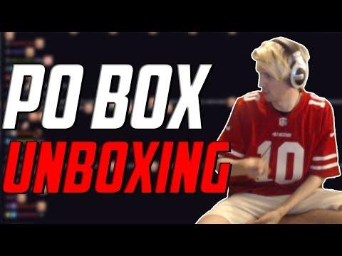 PO BOX UNBOXING