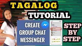 HOW TO CREATE GROUP CHAT ON MESSENGER 2020- Quen&Nana vlogs