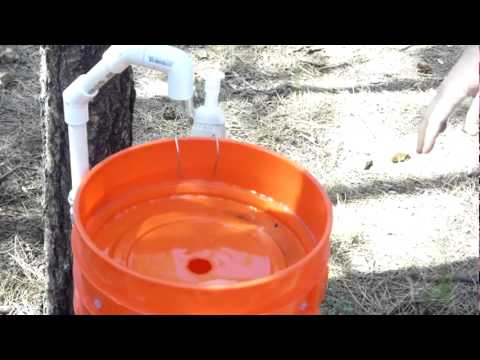 Bucket Camp Sink In Use  YouTube