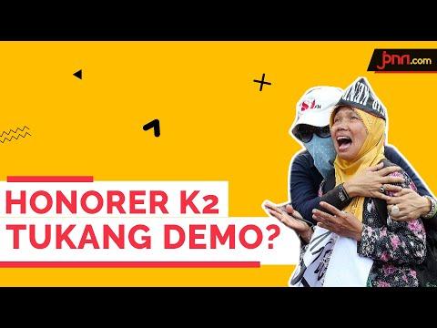 Eko: Ya Memang honorer K2 Tukang Demo