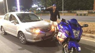 My Honda City Banged Into Hayabusa | Exploring- Delhi Clubs, Night Life