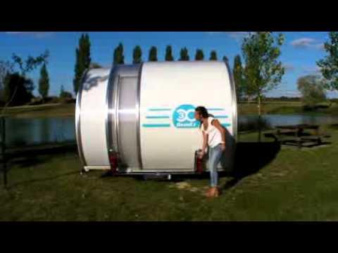 Expandable Travel Trailers >> kleine caravan video+3X.flv - YouTube