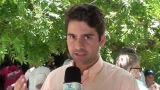 David Girão fala dos objetivos do dia de campo Betânia, dia (7) em Quixeramobim.
