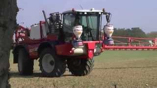 Agrifrac Crop Spraying Norfolk September 2014